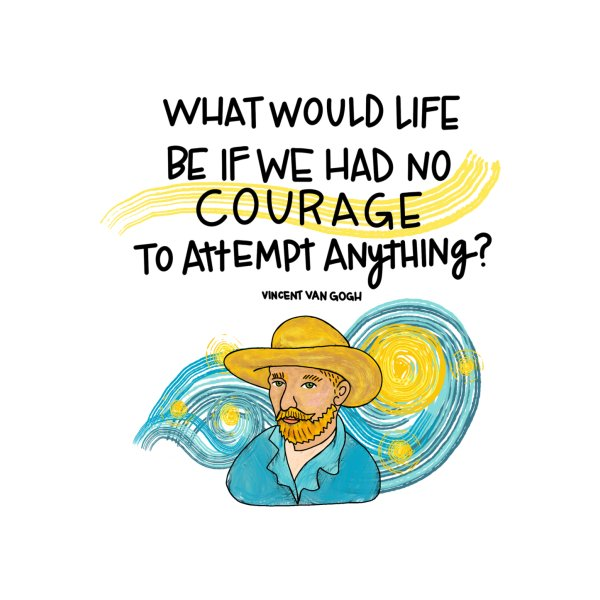 image for Van Gogh Courage