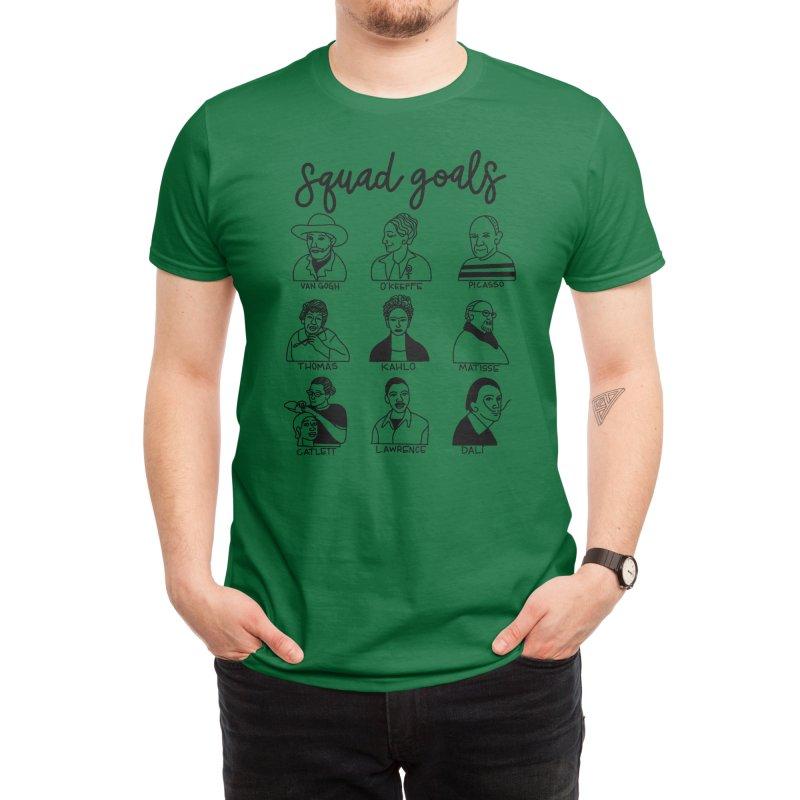 Squad Goals Men's T-Shirt by Artsy Blevs