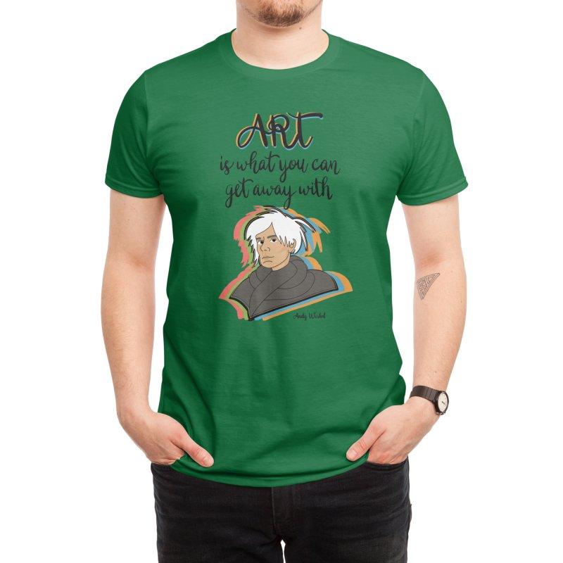 Warhol Art Men's T-Shirt by Artsy Blevs