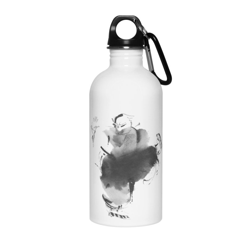 Turn Body And Sweep Lotus With Leg Accessories Water Bottle by arttaichi's Artist Shop