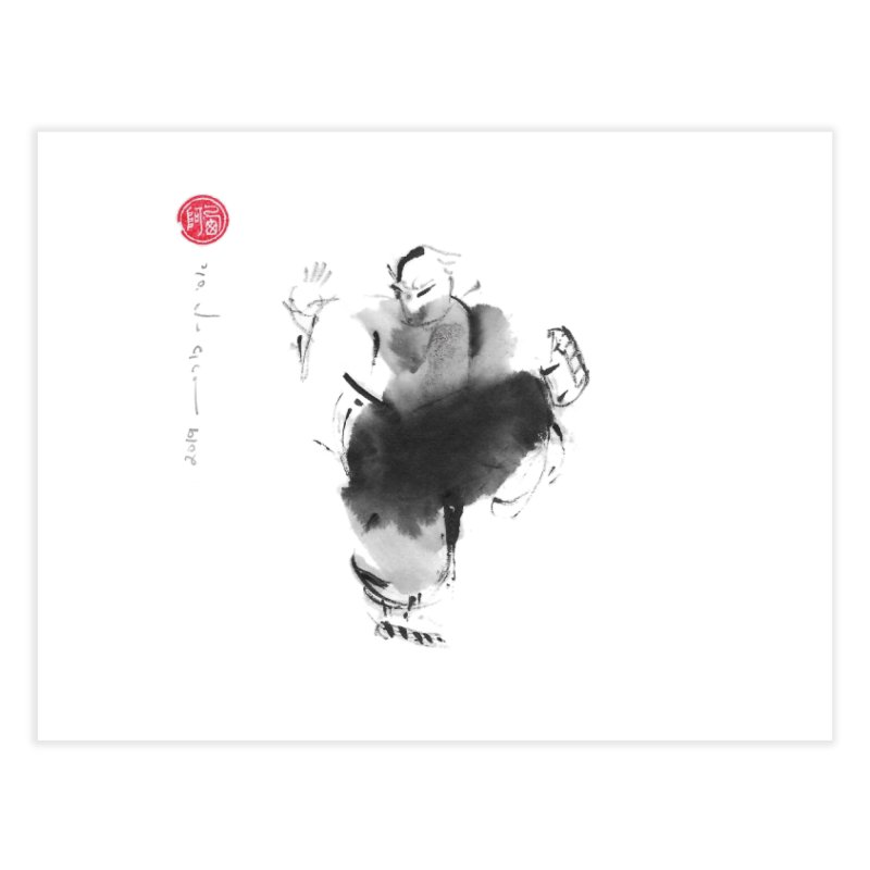 Turn Body And Sweep Lotus With Leg Home Fine Art Print by arttaichi's Artist Shop