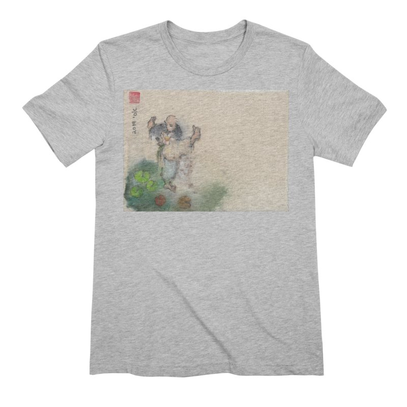 Turn Body And Sweep Lotus With Leg Men's T-Shirt by arttaichi's Artist Shop