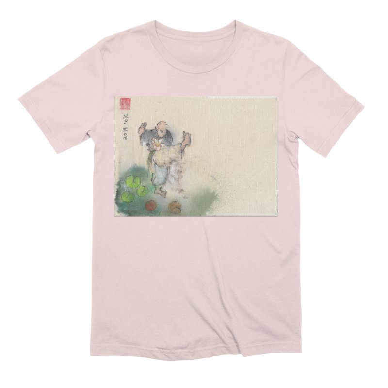 Turn Body And Sweep Lotus With Leg Men's Extra Soft T-Shirt by arttaichi's Artist Shop