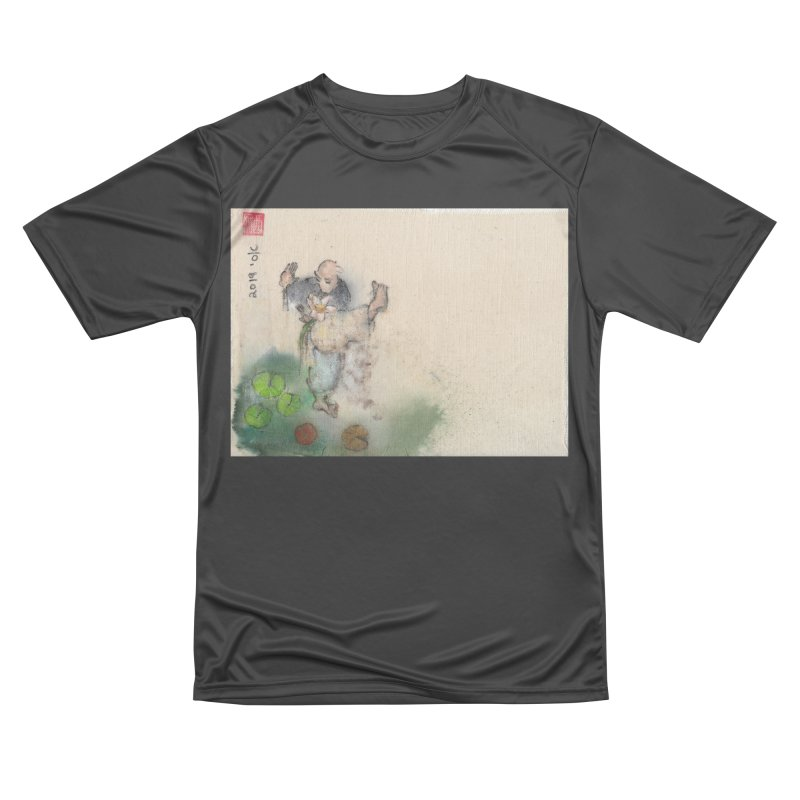 Turn Body And Sweep Lotus With Leg Men's Performance T-Shirt by arttaichi's Artist Shop