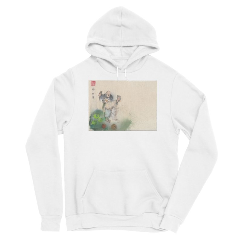Turn Body And Sweep Lotus With Leg Men's Sponge Fleece Pullover Hoody by arttaichi's Artist Shop