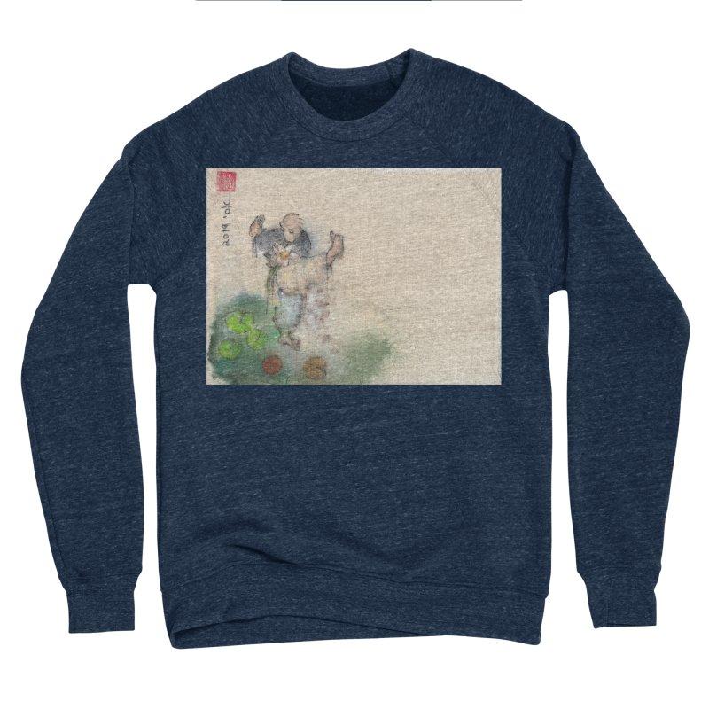 Turn Body And Sweep Lotus With Leg Women's Sponge Fleece Sweatshirt by arttaichi's Artist Shop