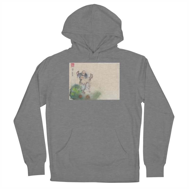 Turn Body And Sweep Lotus With Leg Women's Pullover Hoody by arttaichi's Artist Shop