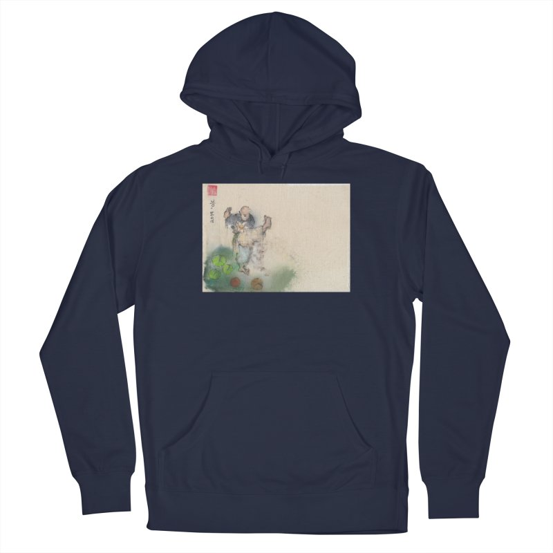 Turn Body And Sweep Lotus With Leg Men's Pullover Hoody by arttaichi's Artist Shop