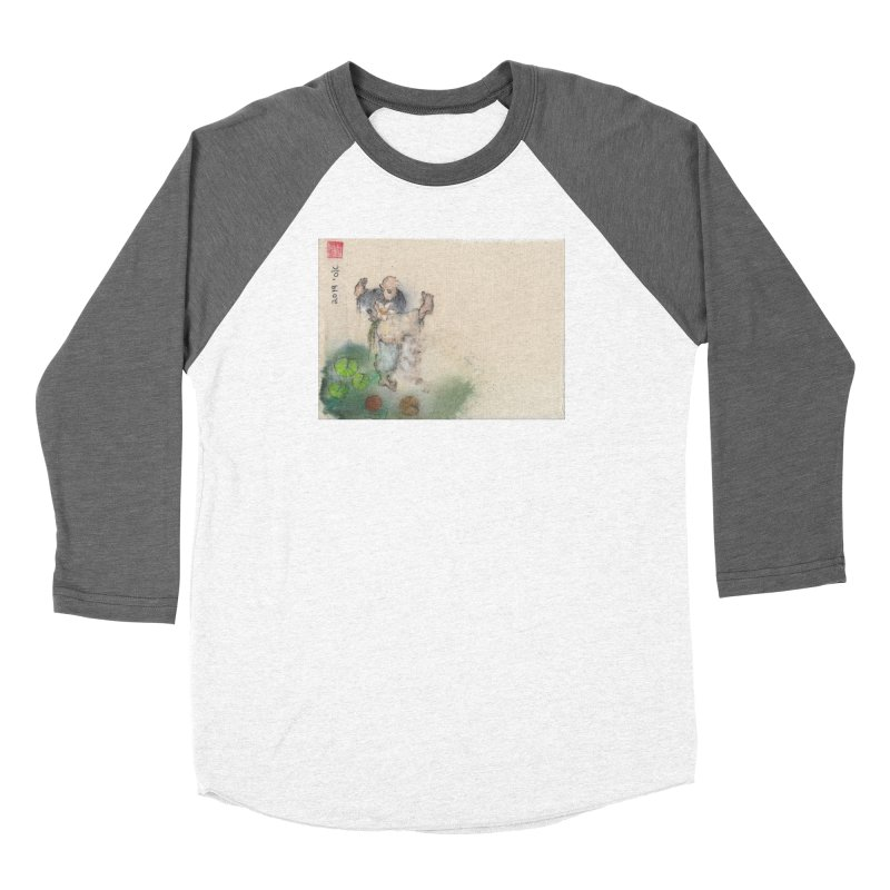 Turn Body And Sweep Lotus With Leg Women's Longsleeve T-Shirt by arttaichi's Artist Shop