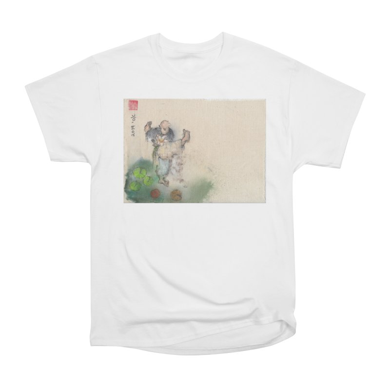 Turn Body And Sweep Lotus With Leg Men's Heavyweight T-Shirt by arttaichi's Artist Shop