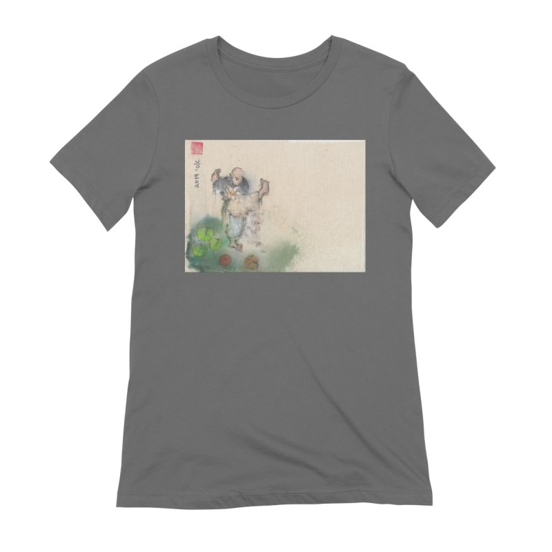 Turn Body And Sweep Lotus With Leg Women's T-Shirt by arttaichi's Artist Shop