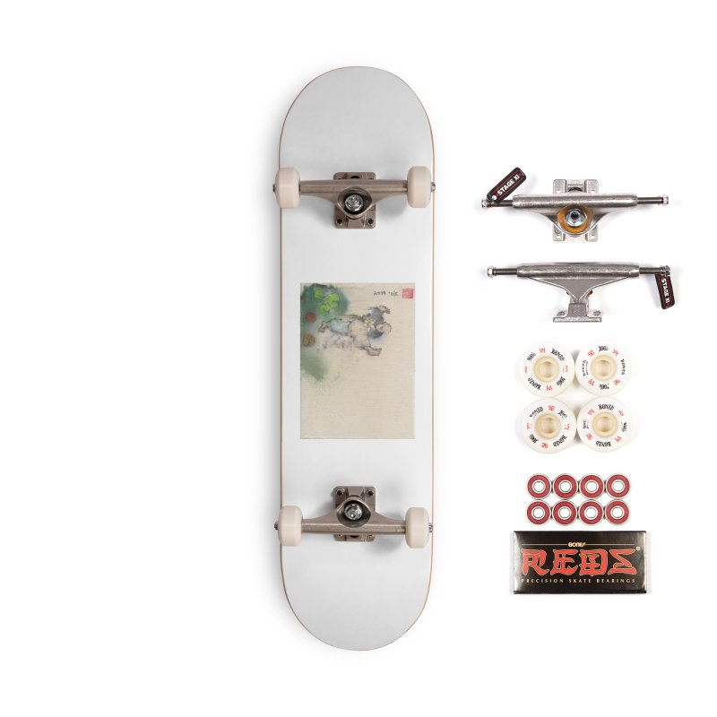 Turn Body And Sweep Lotus With Leg Accessories Complete - Pro Skateboard by arttaichi's Artist Shop
