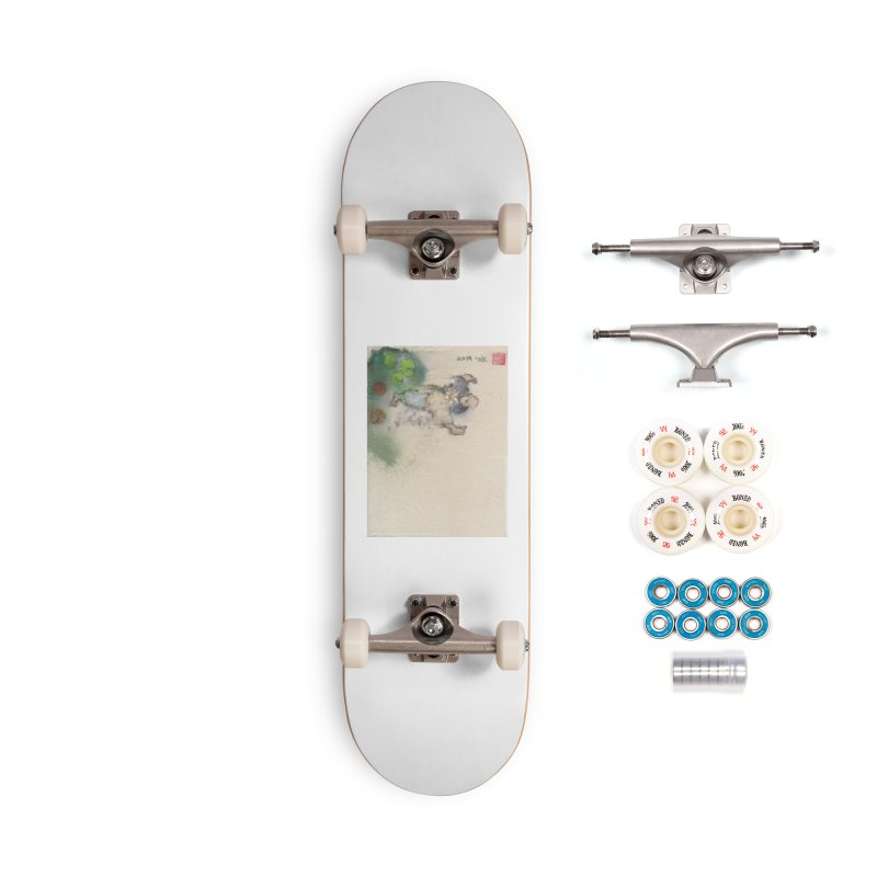 Turn Body And Sweep Lotus With Leg Accessories Complete - Premium Skateboard by arttaichi's Artist Shop