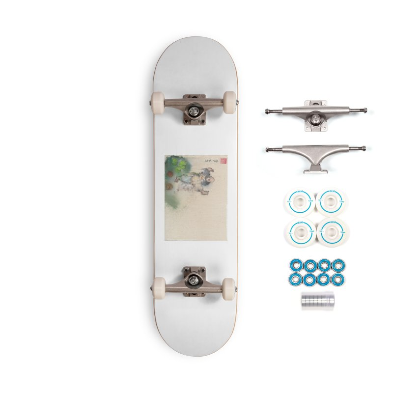 Turn Body And Sweep Lotus With Leg Accessories Skateboard by arttaichi's Artist Shop