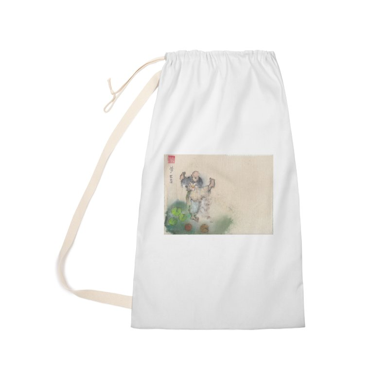 Turn Body And Sweep Lotus With Leg Accessories Laundry Bag Bag by arttaichi's Artist Shop