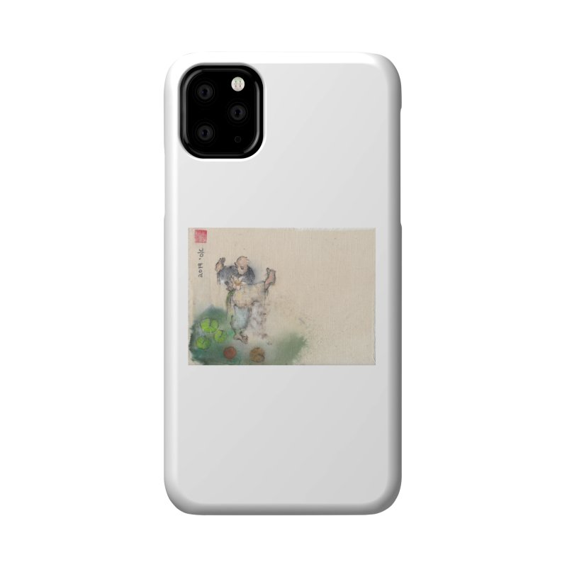 Turn Body And Sweep Lotus With Leg Accessories Phone Case by arttaichi's Artist Shop