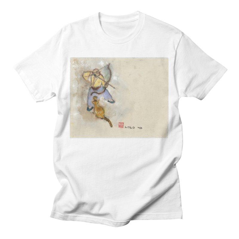 Bend Bow Arrow and a Cat Women's T-Shirt by arttaichi's Artist Shop