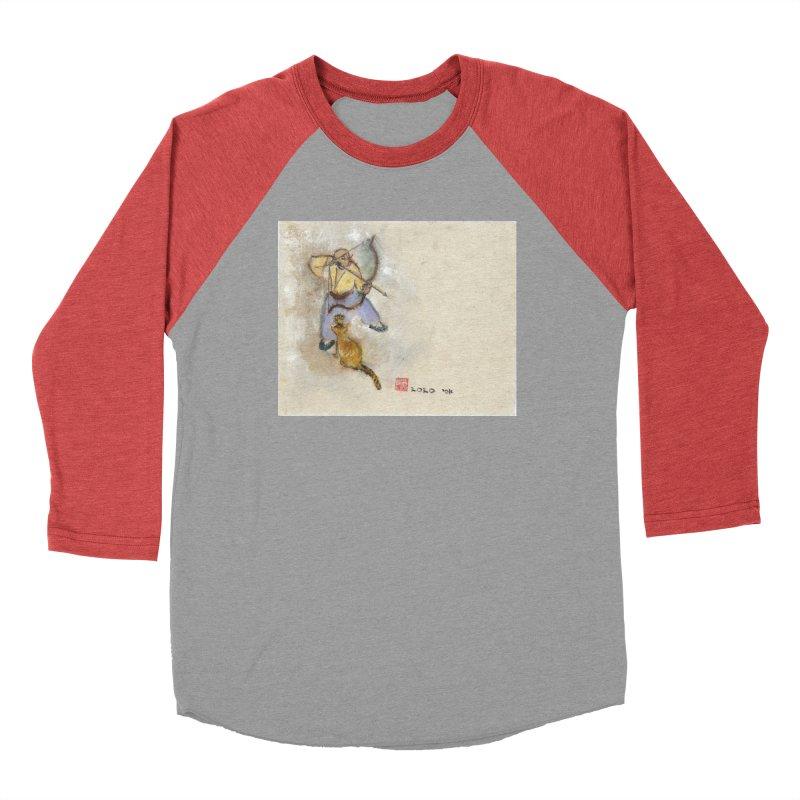 Bend Bow Arrow and a Cat Men's Longsleeve T-Shirt by arttaichi's Artist Shop