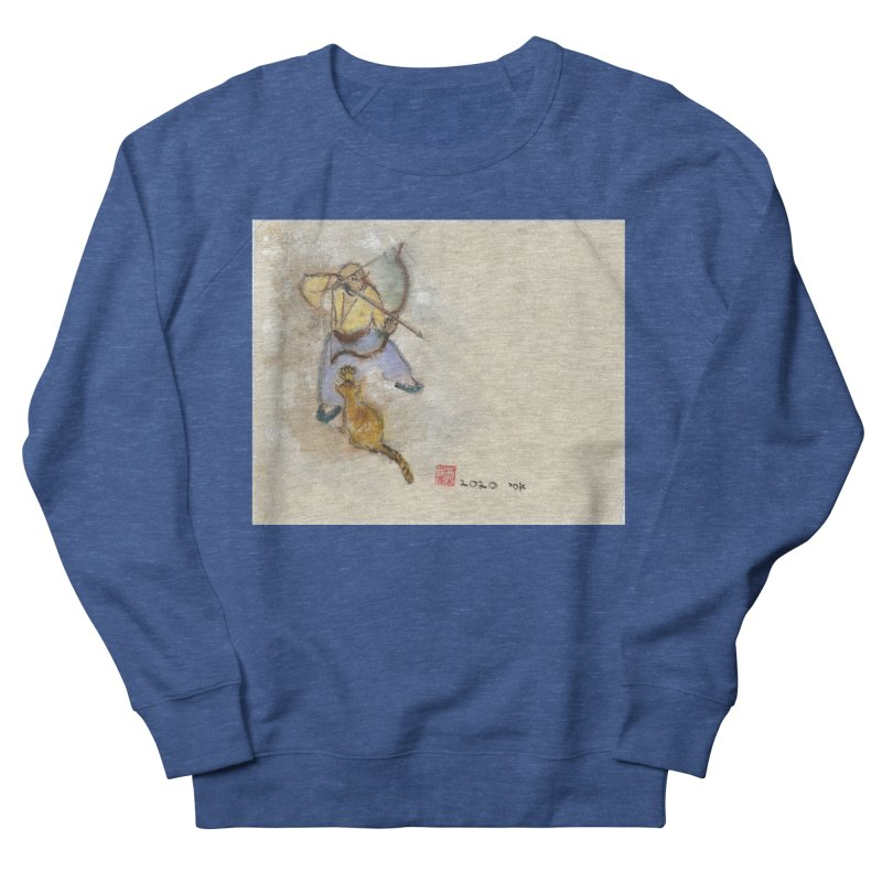Bend Bow Arrow and a Cat Men's Sweatshirt by arttaichi's Artist Shop