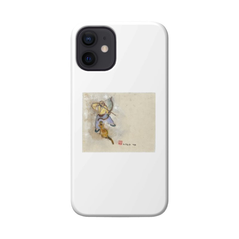 Bend Bow Arrow and a Cat Accessories Phone Case by arttaichi's Artist Shop