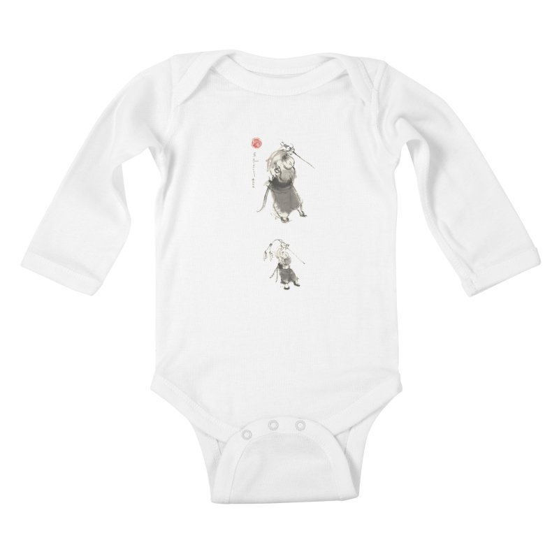 Tai chi Sword - Ursa Minor Kids Baby Longsleeve Bodysuit by arttaichi's Artist Shop