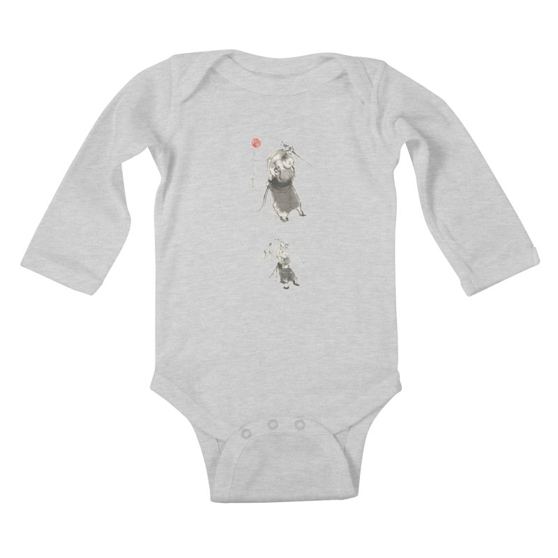Tai chi Sword - Ursa Minor Kids Baby Longsleeve Bodysuit by arttaichi's Artist Shop