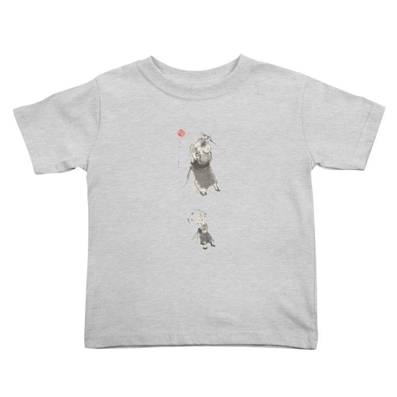Tai chi Sword - Ursa Minor Kids Toddler T-Shirt by arttaichi's Artist Shop