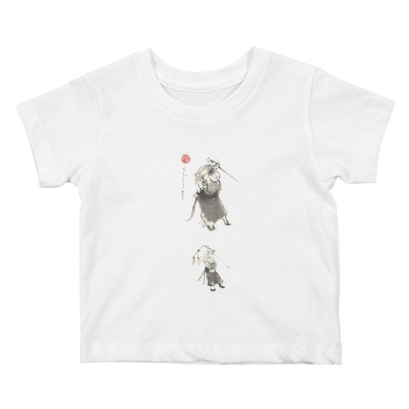 Tai chi Sword - Ursa Minor Kids Baby T-Shirt by arttaichi's Artist Shop