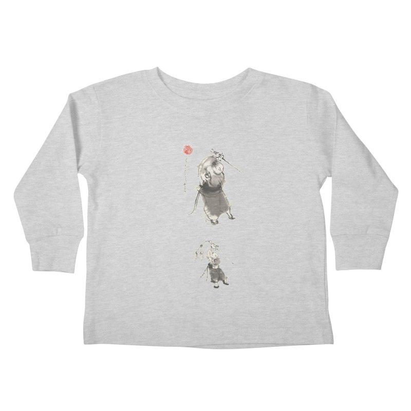 Tai chi Sword - Ursa Minor Kids Toddler Longsleeve T-Shirt by arttaichi's Artist Shop