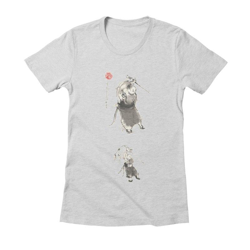 Tai chi Sword - Ursa Minor Women's Fitted T-Shirt by arttaichi's Artist Shop