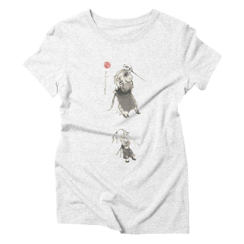 Tai chi Sword - Ursa Minor Women's Triblend T-shirt by arttaichi's Artist Shop