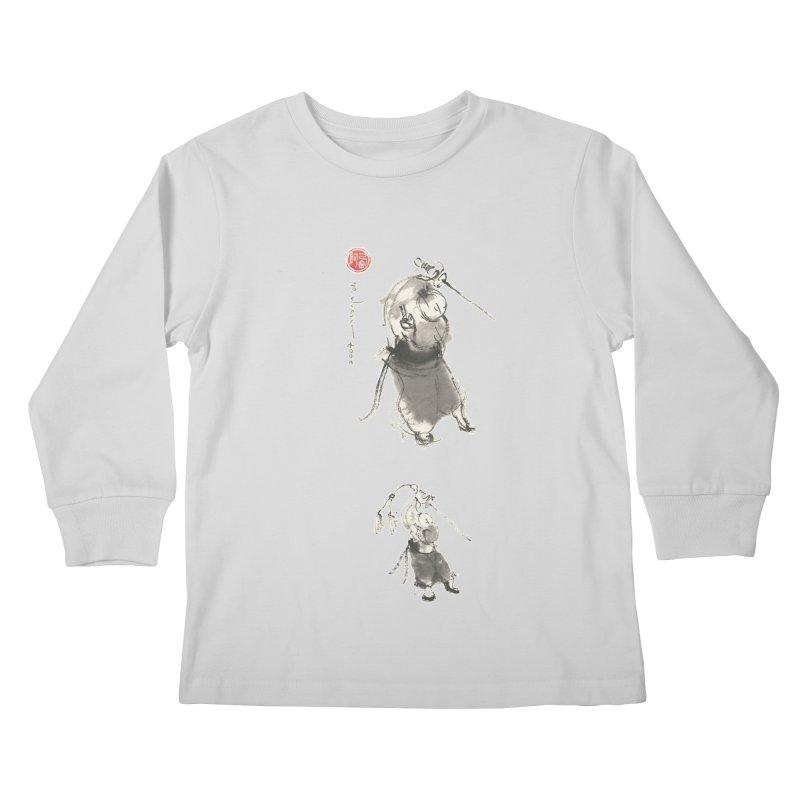 Tai chi Sword - Ursa Minor Kids Longsleeve T-Shirt by arttaichi's Artist Shop
