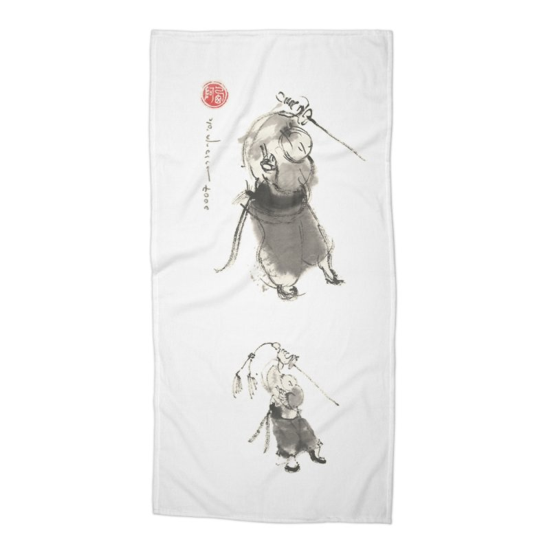 Tai chi Sword - Ursa Minor Accessories Beach Towel by arttaichi's Artist Shop