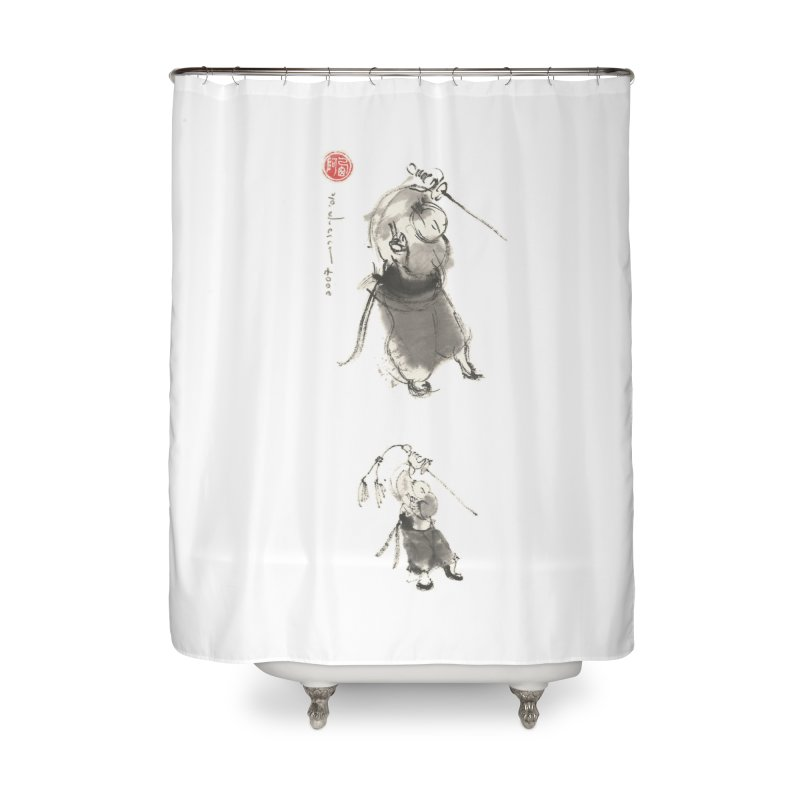 Tai chi Sword - Ursa Minor Home Shower Curtain by arttaichi's Artist Shop