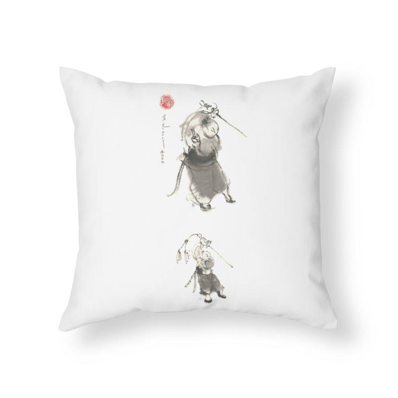 Tai chi Sword - Ursa Minor Home Throw Pillow by arttaichi's Artist Shop