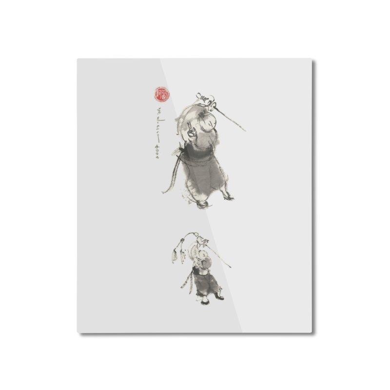 Tai chi Sword - Ursa Minor Home Mounted Aluminum Print by arttaichi's Artist Shop