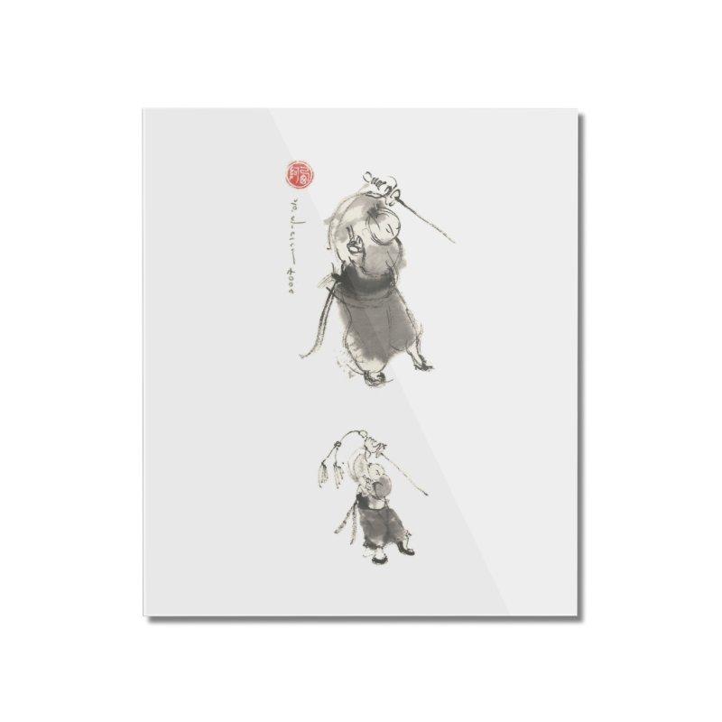 Tai chi Sword - Ursa Minor Home Mounted Acrylic Print by arttaichi's Artist Shop