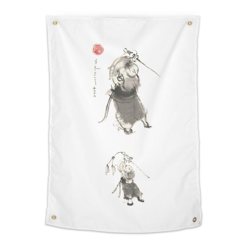 Tai chi Sword - Ursa Minor Home Tapestry by arttaichi's Artist Shop