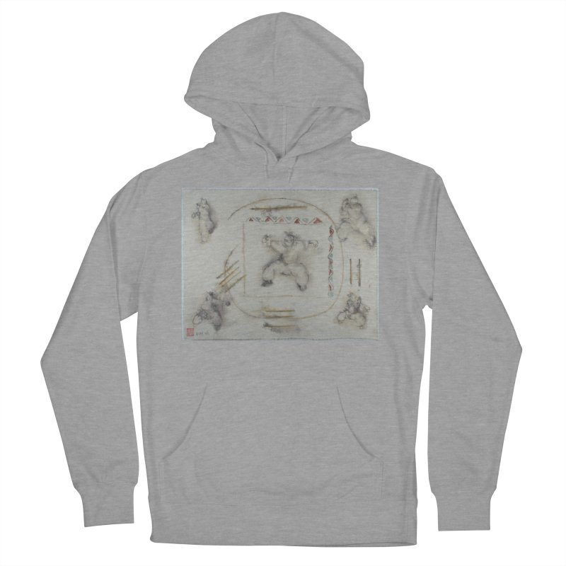 In Transition To Diagonal Posture Women's Pullover Hoody by arttaichi's Artist Shop