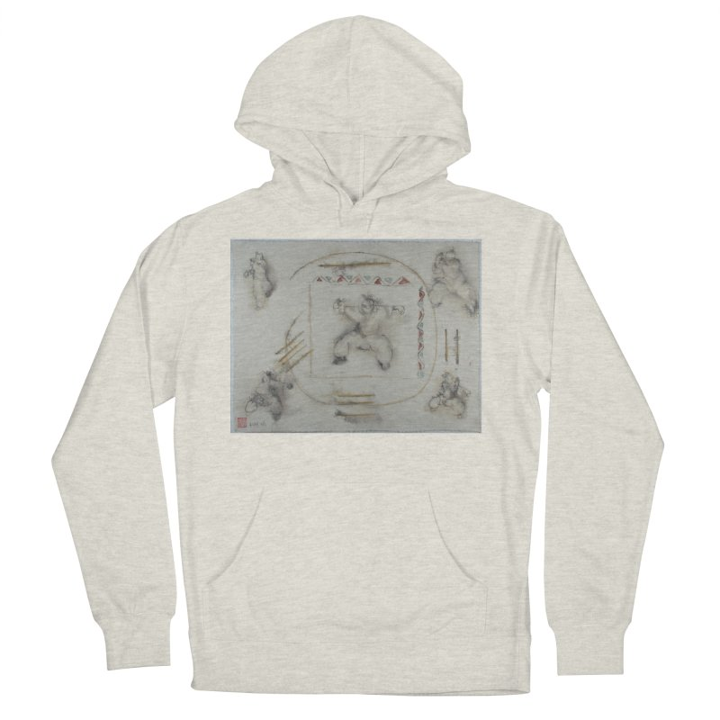 In Transition To Diagonal Posture Women's French Terry Pullover Hoody by arttaichi's Artist Shop