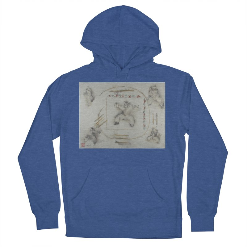In Transition To Diagonal Posture Men's Pullover Hoody by arttaichi's Artist Shop