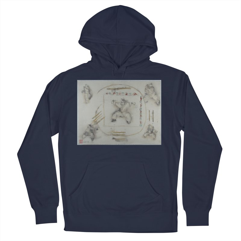 In Transition To Diagonal Posture Men's French Terry Pullover Hoody by arttaichi's Artist Shop