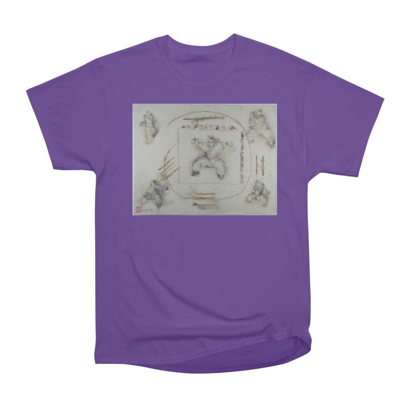 In Transition To Diagonal Posture Women's Heavyweight Unisex T-Shirt by arttaichi's Artist Shop
