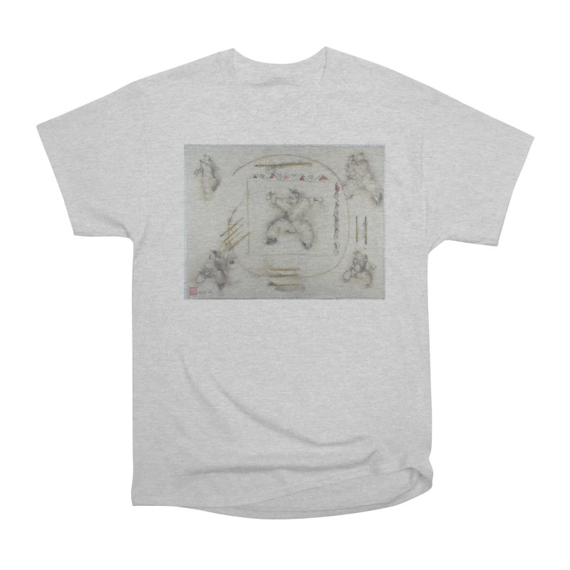 In Transition To Diagonal Posture Women's Heavyweight Unisex T-Shirt by arttaichi's Artist Shop