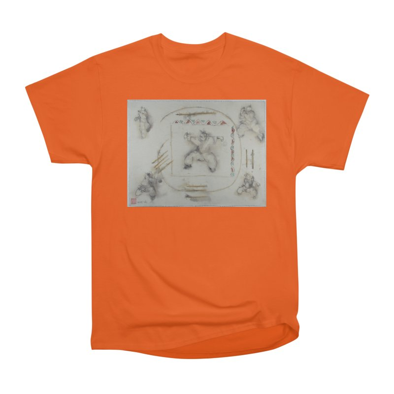 In Transition To Diagonal Posture Women's Classic Unisex T-Shirt by arttaichi's Artist Shop
