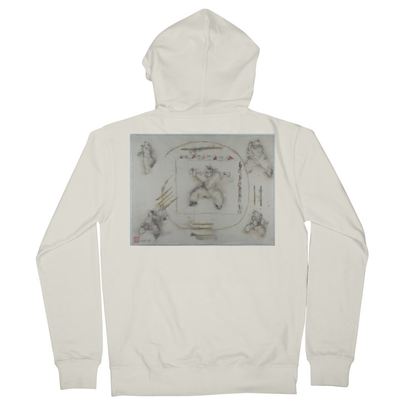 In Transition To Diagonal Posture Men's Zip-Up Hoody by arttaichi's Artist Shop