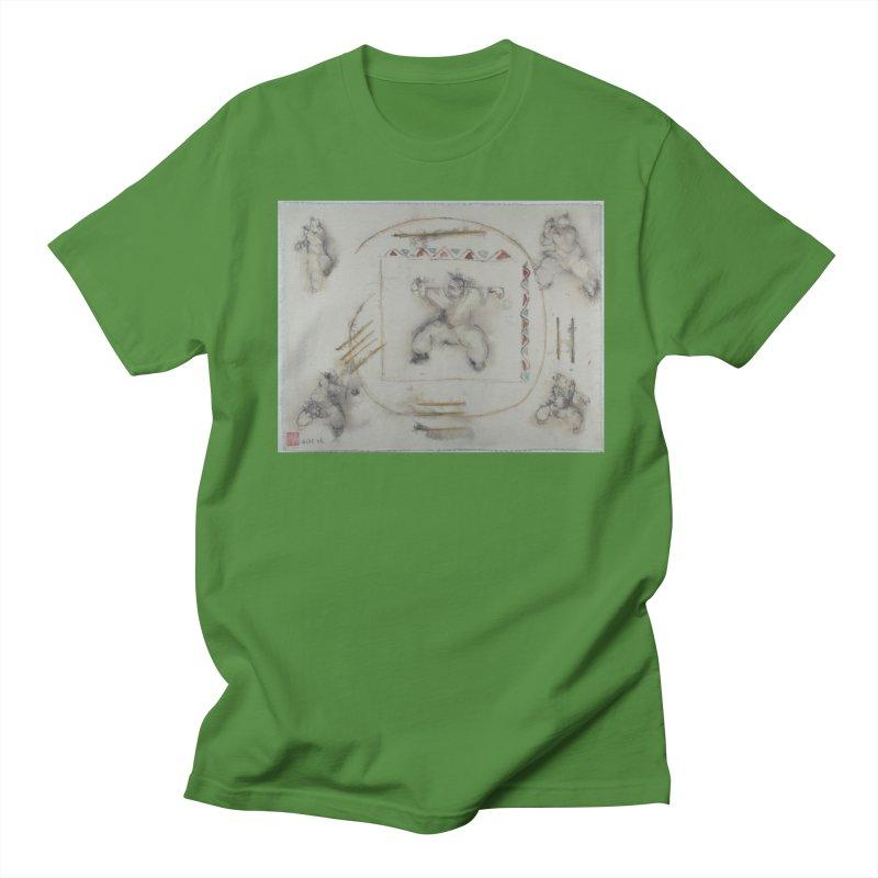 In Transition To Diagonal Posture Women's Unisex T-Shirt by arttaichi's Artist Shop
