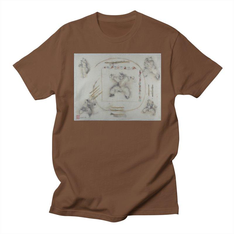 In Transition To Diagonal Posture Men's Regular T-Shirt by arttaichi's Artist Shop