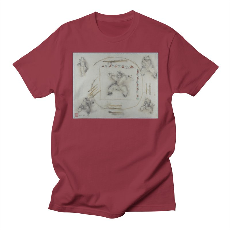 In Transition To Diagonal Posture Men's Regular T-Shirt by arttaichi's Artist Shop