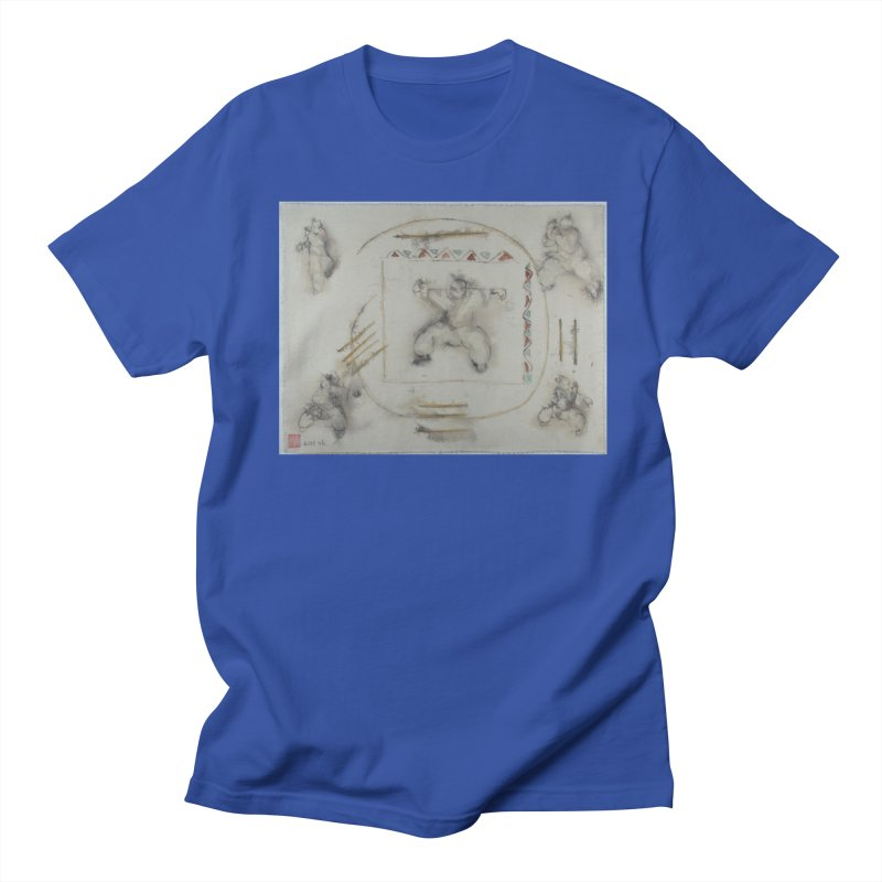 In Transition To Diagonal Posture Men's T-shirt by arttaichi's Artist Shop